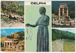 DELPHI, GREECE. MULTIVIEW. 1970´s - Grecia