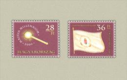 Hungary 2001. Hungarian Millenium Set MNH (**) Michel: 4579 II. + 4657 / 1.50 EUR - Ungarn