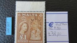 MALTA- STANLEY GIBBONS Num. 281 NUOVO** - Malta (...-1964)