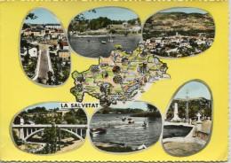 CPSM 34 LA SALVETAT SUR AGOUT MULTI VUES 1963  Grand Format 15 X 10,5 Cm - La Salvetat