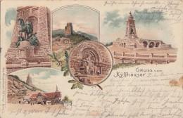 Litho Gruss Vom Kyffhäuser Gelaufen 24.6.06 - Deutschland