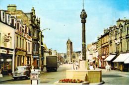 Royaume-Uni-Scoltland ECOSSE (Scottish Borders,Tweeddale) Mercat Cross PEEBLES Timbre Stamp (auto Voiture Camion - Ecosse