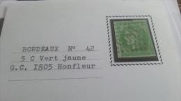 LOT 257150 TIMBRE DE FRANCE NEUF* N�42B VALEUR 180 EUROS SIGNE MIRO