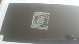 LOT 257229 TIMBRE DE FRANCE OBLITERE N�4 VALEUR 60 EUROS TB