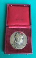 Médaille - Nominative - De La Société Amicale Et De Prévoyance De La Préfecture De Police - Graveur Adolphe Rivet - Professionali / Di Società