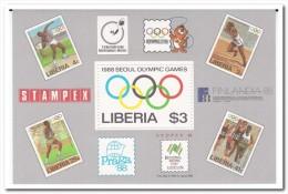 Liberia 1988, Postfris MNH, Olympic Games - Liberia