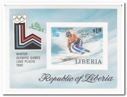 Liberia 1980, Postfris MNH, Imperf.  Olympic Games - Liberia