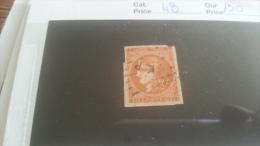 LOT 257262 TIMBRE DE FRANCE  OBLITERE N�48 VALEUR 130 EUROS