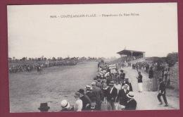 """17 - 080515 - CHATELAILLON PLAGE - Hippodrome Du Haut Rillon Cheval Sport Pesage Pancarte """"fumeurs Attention à Lincendie - Châtelaillon-Plage"""