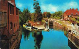 THE RIVER KENNET. NEWBURY, (Connue Pour Ses Courses De Chevaux). - Angleterre