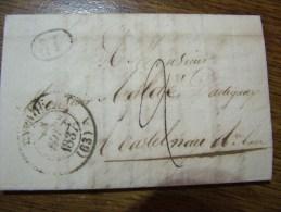 Lettre Ancienne - 1837  - - 1801-1848: Précurseurs XIX