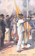 MILITARIA  Marine De Guerre-Guerre Européene  1914-1915 (marins Uniformes)  I.M.L  Charles Fouqueray-Lapina 2209 - Guerra 1914-18