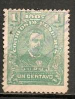 Timbres - Amérique - Honduras - 1907 - 1 Centavo - - Honduras