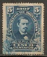 Timbres - Amérique - Honduras - 1907 - 5 Centavos - - Honduras