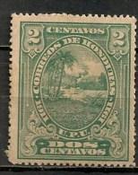 Timbres - Amérique - Honduras - 1911 - 2 Centavos - - Honduras