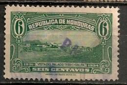 Timbres - Amérique - Honduras - 1931-1934 - 6 Centavos - - Honduras