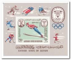 Aden ( Kathiri ) 1967, Postfris MNH, Olympic Games - Postzegels