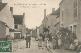 Bessy-sur-cure,vallée De La Cure,un Coin De La Grande Rue - Other Municipalities