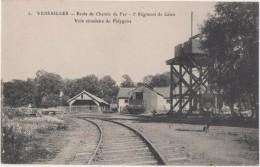Versailles  Ecole De Chemins  De Fer 5 E Régiment De Génie Voie Circulaire Du Polygone - Versailles