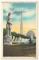 Freedom Statue, Trylon And Perisphere, New York World Fair - Expositions