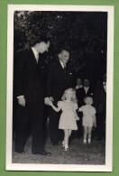 Le Président René Coty En Visite Au Luxembourg (mai 1957) , Le Grand Duc Jean, Sa Fille Marie-Astrid Et Son Fils Henri - Familias Reales