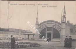 EXPOSITION PROVINCIALE DU LIMBOURG SAINT-TROND 1907 PALAIS DE L´ELECTRICITE MECANIQUE ET CHAUFFAGE, ANIMATION 2 PRETRES - Sint-Truiden