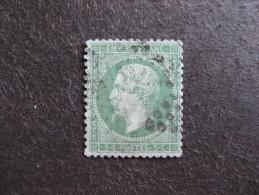 TB N°20a , Oblitéré. Cote = 20 Euros. - 1862 Napoleon III