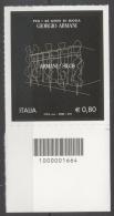 Italia Rep. 2015 - Giorgio Armani Codice A Barre MNH ** - Codici A Barre