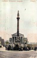 LANARKSHIRE - Glasgow, Battlefield Monument, Langside 1911 Used - Lanarkshire / Glasgow