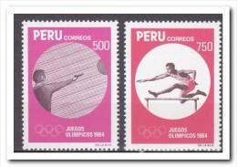Peru 1984, Postfris MNH, Olympic Games - Peru