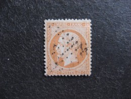 D). TB N°23 , Oblitéré. Cote = 15 Euros. - 1862 Napoleon III