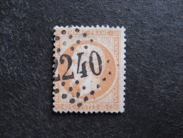 C).  TB N° 23a, Oblitéré . Cote = 15 Euros. - 1862 Napoleon III