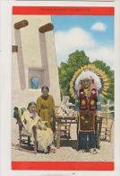 Indians In Scenic Colorado Vintage Postcard USA 0349 - Stati Uniti