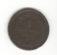 1 Baioccio Vatican / Vaticano 1851 R - Vatican