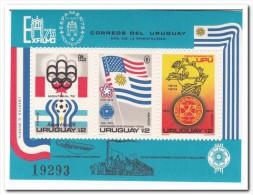 Uruguay 1975, Postfris MNH, EXFILMO 75 - Uruguay