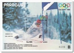 Paraguay 1987, Postfris MNH, Olympic Games - Paraguay