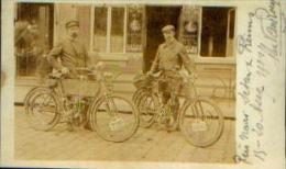 carte-photo � Reis naar Sedan Reims - 15-20 aug 1904 � sign�e ALEX VAN ROEY