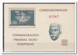 Paraguay 1963, Postfris MNH, Sports - Paraguay