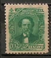 Timbres - Amérique - Honduras - 1893-1894 - 1 Centavo - - Honduras