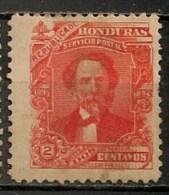Timbres - Amérique - Honduras - 1893-1894 - 2 Centavos - - Honduras