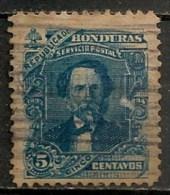 Timbres - Amérique - Honduras - 1893-1894 - 5 Centavos - - Honduras