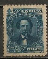 Timbres - Amérique - Honduras - 1893-1894 - 25 Centavos - - Honduras