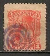 Timbres - Amérique - Honduras - 1894-1895 - 1 Centavo - - Honduras