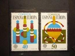 THEMA EUROPA SPANJE 2620/2621 Xx ( YVERT ) COTE : 1.75 EURO ( D ) - Europa-CEPT