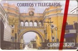 TARJETA DE GUATEMALA DE CORREOS Y TELEGRAFOS (LADATEL) NUEVA-MINT - Guatemala