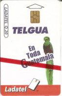 TARJETA DE GUATEMALA DE UN QUETZAL (BIRD-PAJARO)  (LADATEL) NUEVA-MINT - Guatemala