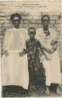 Urundi Chef Chretien Et Sa Petite Famille - Ruanda-Urundi