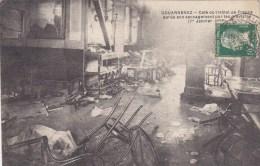 DOUARNENEZ : Le Café De L'Hôtel De France Saccagé Par Les Grévistes Le 1er Janvier 1925  - Rare - Douarnenez