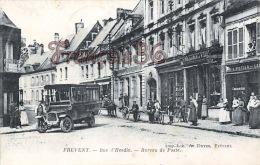 (62) Frevent - Rue D'hesdin - Bureau De Poste - Bus Autobus - 2 SCANS - Autres Communes
