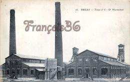 (62) Bruay - Fossé N°6 - Dr Marmottan - Cheminées - 2 SCANS - France